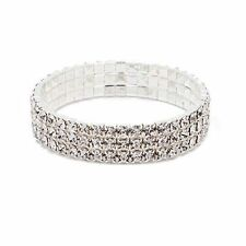 Effect Wedding Zircon Prom Bridal Party Trendy Stretch Bracelet Anklet Crystal