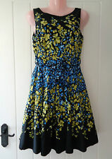 *Gorgeous Floral Full Skirt Tea Dress By Red Herring Special Edition Size 10