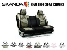 Coverking Realtree Camo Custom Front and Rear Seat Covers for Hummer H2