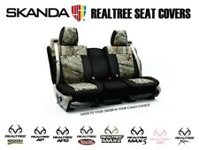 Coverking Realtree Camo Custom Front and Rear Seat Covers for Jeep Patriot