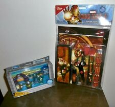NEW School Supplies ~ Disney Store Iron Man 3 Set or Monster University Toppers