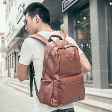 New Fashion Retro Trend Bag Shoulder Womens & Girls PU Leather Backpack Purse /