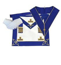Masonic Craft Provincial Undress Apron Imitation And Collar with free Gloves