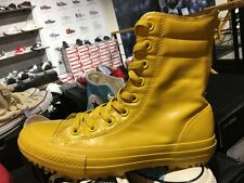 Converse Chuck Taylor All Star Hi-Rise Boot Rubber Yellow Womens Boots 549589C