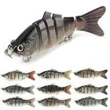 Multi-jointed Bass Fishing Bait Swimbait Lure 6 Sections Bait