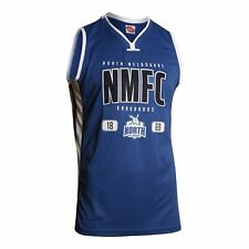 North Melbourne Kangaroos AFL Football Mens Basketball Jersey