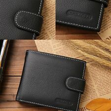 Credit Card Pouch Money Holder Money Clip Bifold Wallet Cowhide Purse Wallet