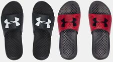 Under Armour Men's UA Strike Micro Geo Slides Sandals Many Sizes