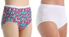 Fruit of the Loom Ladies Plus Size Briefs 5 or 10 Pack Sizes 9-13