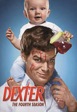 DEXTER The Complete Fourth Season DVD Set Four 4-Disc DVD Showtime Series