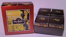 MIA BELLA'S GOURMET SCENTED WINE WINERY COLLECTION JAR CANDLES ~ASSORTED~PICK