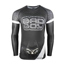 Bad Boy Assasins Rash Guard Jiu Jitsu BJJ No Gi Grappling Compression Top MMA