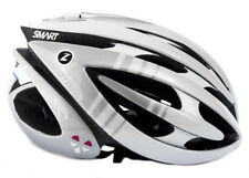 LAZER GENESIS LIFEBEAM BIKE HELMET SILVER/WHITE New
