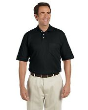Chestnut Hill Mens Performance Plus Pocket Polo Shirt Big Sizes Only