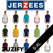 JERZEES SpotShield 50/50 Youth Polo Shirt. 437Y