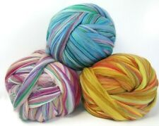 Merino Colorblend 2 oz. Wool Top Roving, Sliver, Multi colors by Ashland Bay