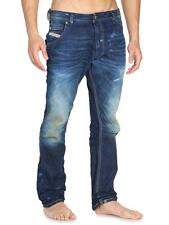 Authentic!! New With Tag!! Diesel Men's Krooley 880W Regular Slim Carrot Jeans