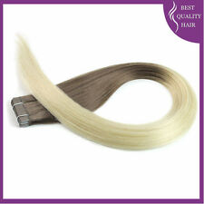 Omber Skin Tape in Human Hair Extensions Remy Hair 40pcs /20pcs Straight #6/#613