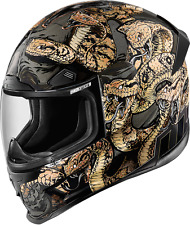ICON AIRFRAMEPRO MOTORCYCLE HELMET AFP COTTNMOUTH GD MD MEDIUM 0101-9327