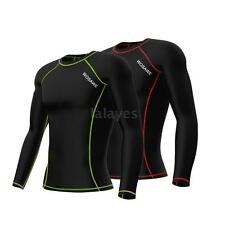 Winter New Hot Thermal Fleece Long Sleeve Mens Team Cycling Jersey M0V3