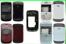 Genuine Full Blackberry 8520 Curve fascia housing Red BURGANDY Plate Lens
