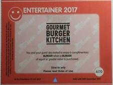 Burger from Gourmet Burger - BOGOF Discount Vouchers-from DUBAI Entertainer 2017