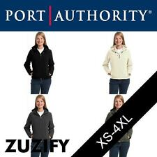 Port Authority Ladies Textured Waterproof Hooded Soft Shell Jacket. L706