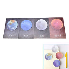 1Pc Planet Memo Pad Notebook Sticky Note Portable School Stationary RS