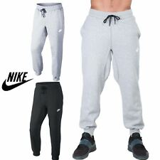Mens Nike Foundation Track Sweat Bottoms Gymming Swoosh Pants Joggers Trouser