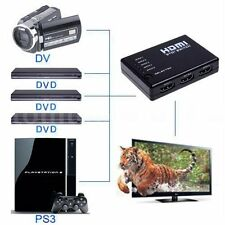 3/5 Port 1080P HDMI Switch Selector Switcher Splitter Hub+Remote for PS3 HDTV HF