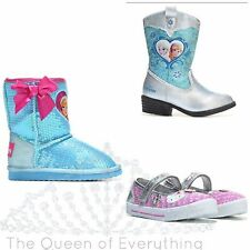 Hello Kitty Frozen Girls Shoes Boots 5 Styles Sizes-- U Choose! US FAST SHIP