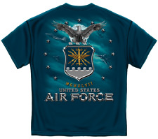 United States Air Force MCMXLVII Fighter Jet Missile Short Sleeve T-Shirt