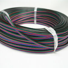 RGB 4-Pin Extension Wire Connector Cable Cord For 3528 5050 RGB LED Strip Sales