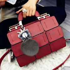 Fashion Women Leather Handbag Shoulder Crossbody Bag Girls Purse Tote AU Stock