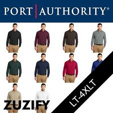 "Port Authority Tall ""Silk Touch"" Long Sleeve Polo Shirt. TLK500LS"