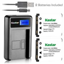 LCD 1 USB Charger & Battery for Kodak KLIC-7006 EasyShare M23 M583 M750 M5370 MD