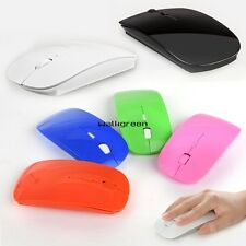 Slim 2.4GHz 1600 Dpi Wireless Optical Mouse Mice USB Receiver for PC Laptop WN