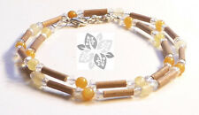 Hazelwood Therapeutic Citrine & Crystal Necklace #