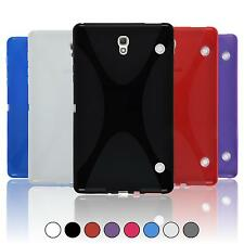 Samsung Galaxy Tab S 8.4 TPU Case Cover X-Style + protective foils
