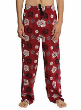 Supernatural Anti-Possession Rune Sleep Lounge Pants Pajamas PJS MEN'S M NEW
