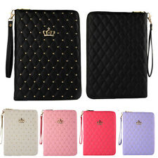 Fashion Design New Luxury Leather Smart Case Stand Cover For Apple iPad