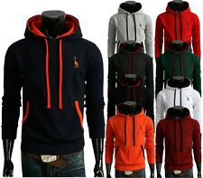 Fashion Men's Casual Slim Fit Sexy Designed Hoodies Sweats Jackets Coats Tops ws