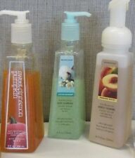 VINTAGE HTF BATH & BODY WORKS DEEP CLEANSING OR FOAMING HAND SOAP CHOOSE ONE