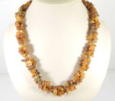 Medical Raw Baltic Amber stone beads (22 inch)