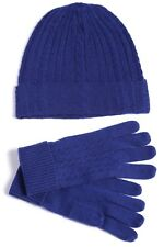 100% Pure Cashmere Hat & Glove Set