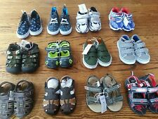 Toddler Boys Size 7 Asst. Styles Sandals/Shoes NWT Each Sold Separately
