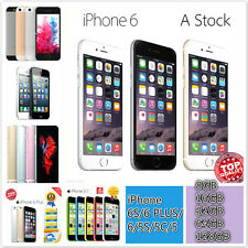 Apple iPhone 6S/6 Plus/6/5S/5C/5 AT&T Unlocked Smartphone All Colors Perfect WN