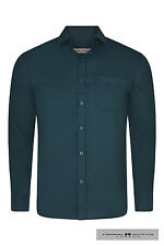Mens designer Slim fit dress Shirts With Pockets Brand New ,Size Small to XXL