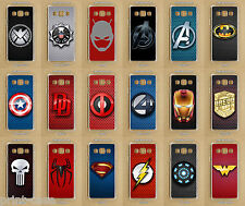 Samsung Galaxy A3, A5, 2016, 2017, ALPHA,  Marvel / DC Super Heroes Phone Case