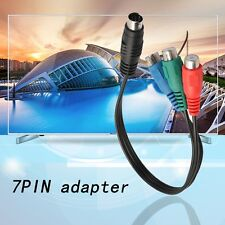 S-Video to 3 RCA RGB Component TV HDTV Cable Connect Your Laptop to HDTV F7